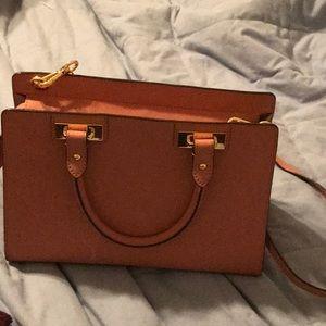Michael Kors pink leather pocketbook